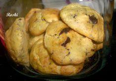 Estas galletas están de vicio.... y las adapte para la dieta Dukan. Lo del chocolate es opcional.......las que están en crucero puede... Dukan Diet, Chocolate, Crepes, Muffin, Gluten Free, Keto, Healthy Recipes, Healthy Food, Cookies