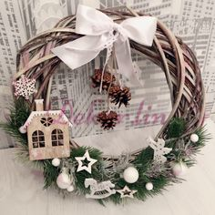 Christmas Wreaths, Holiday Decor, Home Decor, Decoration Home, Room Decor, Home Interior Design, Home Decoration, Interior Design