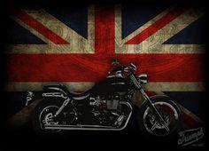 Triumph England flag