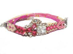 SS2013 Collection  friendship bracelet necklace  by OOAKjewelz, €129.95
