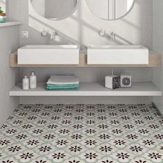 Bordeaux Chartres Patterned Green Porcelain Kitchen Tiles Wall Tileflair