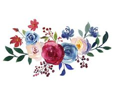 Burgundy and Navy Watercolor Collection, Merlot and Blue Wedding Florals, Burgundy, Blush and Navy Blue Hand painted Florals Flower Background Wallpaper, Flower Backgrounds, Watercolor Flowers, Watercolor Paintings, Watercolor Wedding, Dibujos Baby Shower, Birthday Frames, Flower Quotes, Floral Border