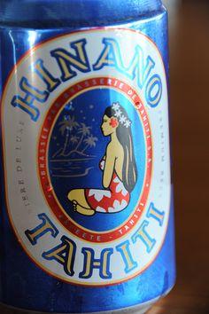 Hinano beer. ヒナノビール