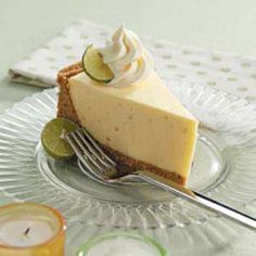 No-Bake Lime Cheesecake Recipe -- Make this lower in carbs by substituting for sugar, and use just a coating of crumbs or nuts instead of graham cracker crust.