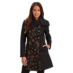 Joe Browns - Black kaleidoscope coat