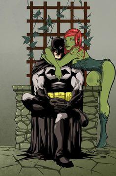 Batman Ivy by Nguyen by VPizarro626.deviantart.com on @deviantART