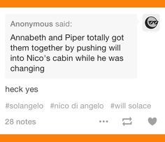 I can SO see Annabeth and Piper doing this :D