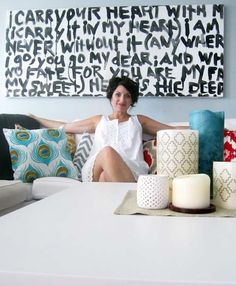 Transform Your Walls With 22 BIG Wall Art DIYs via Brit + Co.