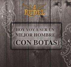 Sé la mejor versión de ti mismo ;) #RudelVaBien