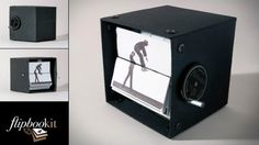 The image of a prototype of the FlipBooKit, which designer and 'maker of things' Wendy Mar...