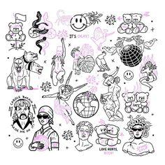 Dainty Tattoos, Dope Tattoos, Badass Tattoos, Pretty Tattoos, Mini Tattoos, Body Art Tattoos, Small Tattoos, Sleeve Tattoos, Kritzelei Tattoo