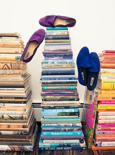 Stacks. www.thecoveteur.com/kyle_dewoody