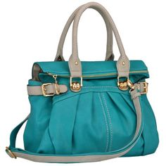 Teal Oversized Zipper Top Closure Double Handle Soft Hobo Office Tote Daybag Bowler Satchel Handbag Purse MG Collection http://www.amazon.com/dp/B008G5HRVQ/ref=cm_sw_r_pi_dp_-BbBub0H9X90W