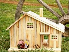 Little House on the Prairie Dollhouse Allows Your Child to Reenact the Olden Days