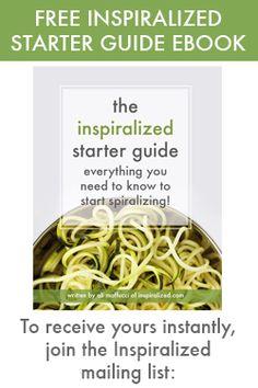 zucchini + summer squash | Inspiralized