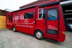 Man with the Van Red Matte Fleet wraps - Large format printing NYC - NY City Wraps Large Format Printing, Car Wrap, Rv, Wraps, Prints, Ideas, Design, Motorhome, Camper Tops