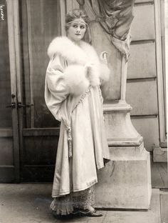 "Opera wrap - New York, 1910s If Candy went out to get some ""fresh air"" that fateful New Year's Eve of 1912, she would have taken a wrap like this. Surely, George would have made sure that she took something warm with her before leaving her room to attend the party."