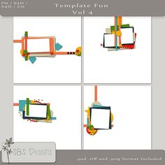 Template Fun Vol4 | SAS Designs