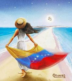 Mujer Venezolana! We The Best, Largest Countries, Children In Need, Over The Rainbow, Beautiful World, Beautiful Things, South America, Tropical, Disney Characters