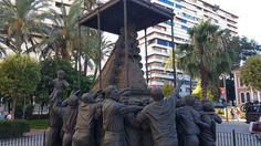 Impresionante. Escultor  Elias Rodriguez Picon #SaboraHuelva @aunahorade  @grupoadarsa @Huelvagastro17 @Cruzcampo @RedGuadalinfo @huelvaturismo @AytoHuelva @DipuHU