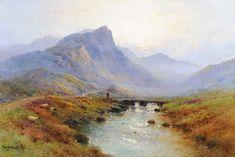 "Tennants Auctioneers: Alfred Fontville de Breanski (1877-1957)""Early Morning on the Ogwen Moors"