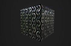 ArtStation - Substance Designer Metal Tile + add node clean metal variation , inho kim