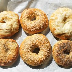 Learn how to make homemade bagels!
