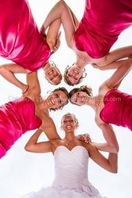 Cute wedding pose