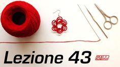Chiacchierino Ad Ago 43˚ Lezione Orecchini Tecnica Ankars How To Tutoria...