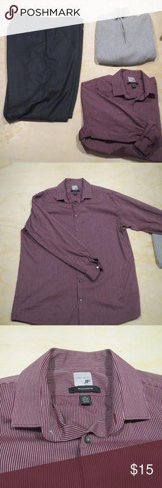 17/17 1/2 x 34-35 jf j.ferrar dress shirt Excellent quality dress shirt. jf j.ferrar Shirts Dress Shirts