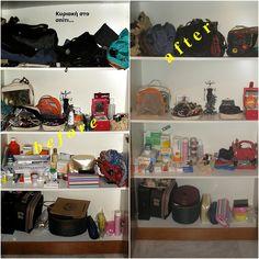 Κυριακή στο σπίτι... : Οργάνωση ντουλάπας [Project 10] Closet Organization