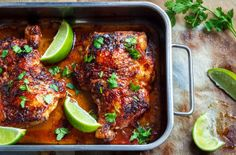 Sweet-&-Spicy-Roasted-Chicken-Legs