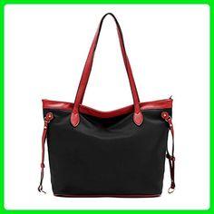LoZoDo Women Top Handle Satchel Handbags Shoulder Bag Messenger Bag Tote Purse - Top handle bags (*Amazon Partner-Link)