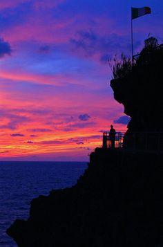 Sunset Sentinel, Monterosso, Italy