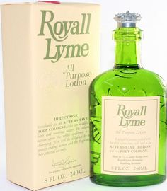 ROYALL LYME by Royall Fragrances All Purpose Lotion / Cologne 8 oz for Men NEW #RoyallFragrances