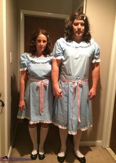 The Shining's Grady Twins - Couples Halloween Costume Idea
