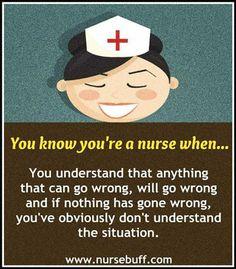Visit us for more Funny Nursing Quotes: www.nursebuff.com/