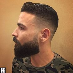 Photo Beard Styles For Men, Hair And Beard Styles, Sexy Bart, Beard Maintenance, Hipster Haircuts For Men, Badass Beard, Gents Hair Style, Mens Hairstyles With Beard, Beard Tips