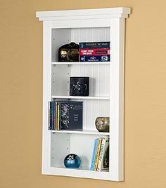 remodelaholic 25 brilliant in wall storage ideas for every room rh pinterest com book shelves in the wall shelves in the wall