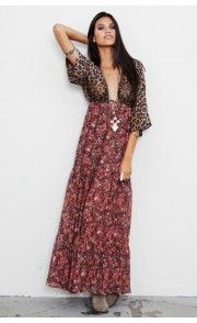 bought a bohemian dress KINDA like this one.. eek can't wait to wear it! It was only $4 :))