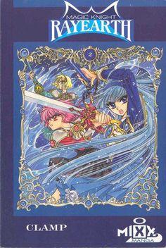 Magic Knight Rayearth Anime Japanese Geek gift by RetroBooksUK Manga Covers, Book Covers, Magic Knight Rayearth, Another Anime, Girls World, Geek Gifts, Magical Girl, Manga Anime, Geek Stuff