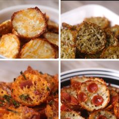 Crispy Cheese Chips 4 Ways by Tasty
