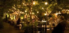 Tra Vigne in Napa Valley.  One of our long time favorite restaurants
