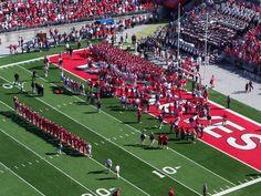 Team Signing Carmen Ohio post game