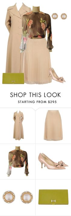 """""""outfit 3229"""" by natalyag ❤ liked on Polyvore featuring Givenchy, Dolce&Gabbana, Valentino, Chanel, Hermès, women's clothing, women, female, woman and misses"""