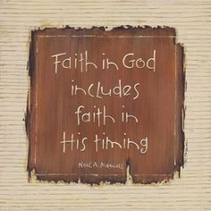 Cause you gotta have faith, faith, faith!!!