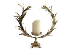 Large Wreath Candlestick on OneKingsLane.com