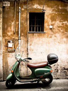 42 #vespa  #rome #italy  by Marty Portier