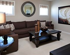 коричневые стены и диван - Поиск в Google