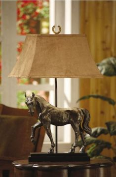 Bronze Horse Table Lamp by Crestview Collections - Waugh Interior Designs